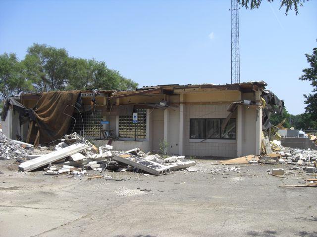 Abandoned Police Station Demolition