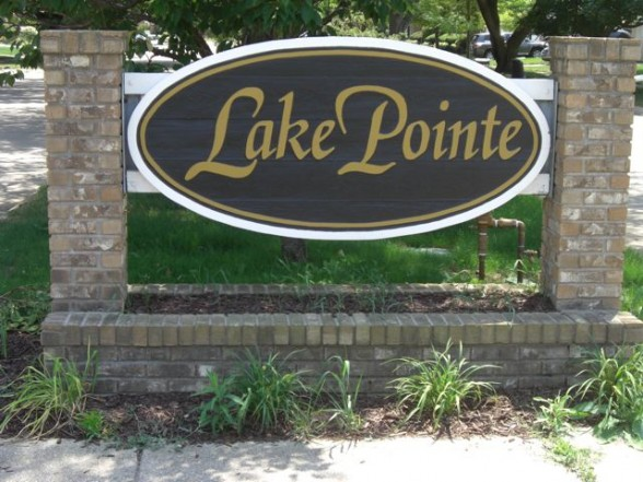 Lake Pte Sign Farmbrook St 7-6-12