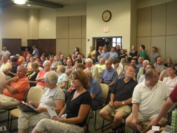 LWV Meeting Township Hall 7-16-12