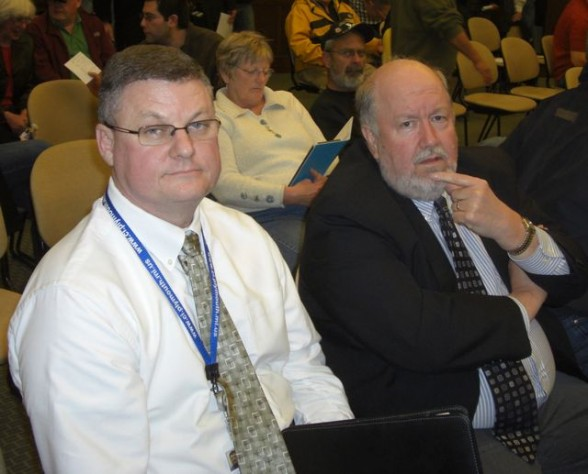 Paul Hood and Dale Berry HVA Ambulance Co