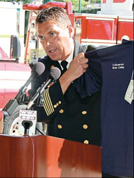 Westland Fire Chief Michael Reddy