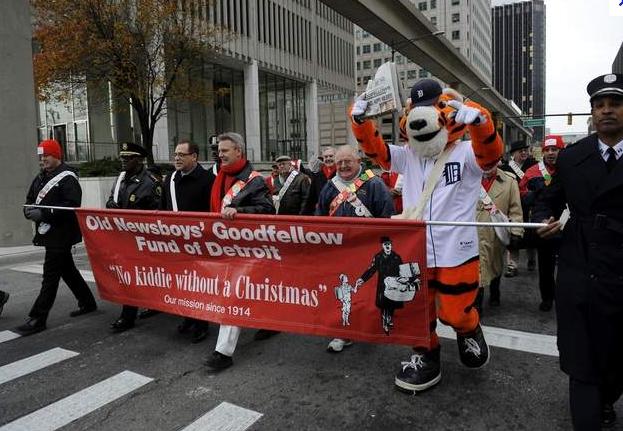 Goodfellows Detroit Parade  Det News
