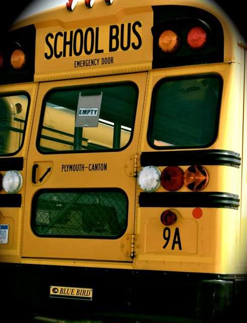Plymouth Canton School Bus