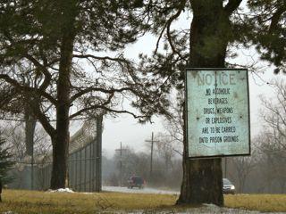 DeHoCo Prison Sign Five Mile Rd