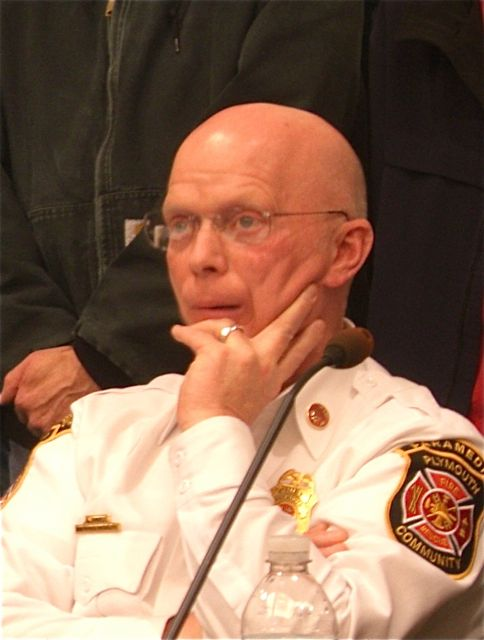 Plymouth Township Fire Chief Mark Wendel