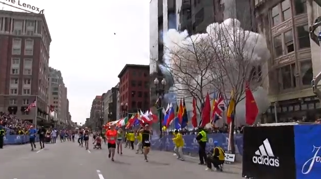 Bombing at Boston Marathon