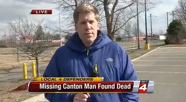 Video Mission Canton Mans Body Found