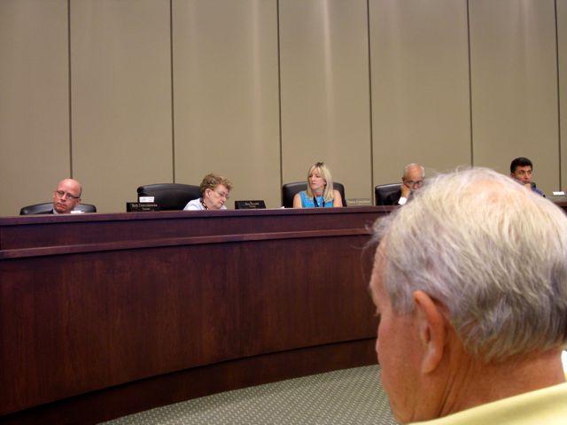 Duane Zantop at Plymouth Township Board Meeting