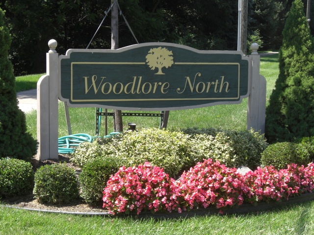 Entrance to Woodlore North in Plymouth Township