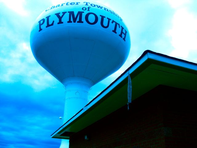 Plymouth Township Water Tower