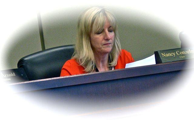 Clerk Nancy Conzelman