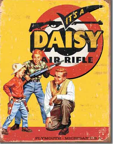 Daisy Air Rifle Ad
