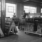Daisy Factory Interior, Circa 1895