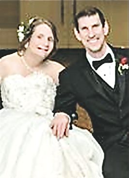 David Gorden and his bride Maureen