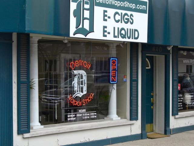 Detroit Vapor Shop Plymouth MI