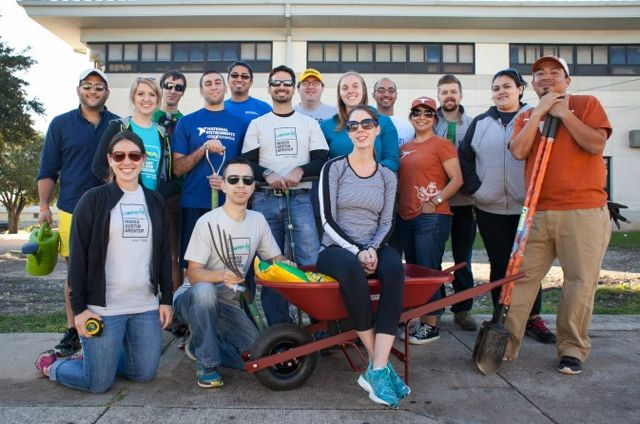 United Way Clean Up