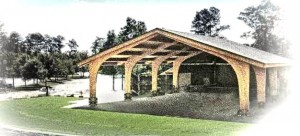 Concept Drawing for Band Shell