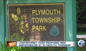 Plymouth Township Park Sign