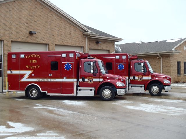 Canton Twp New Ambulances