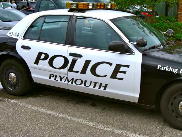 Plymouth Police Vehicle
