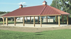 New $130,000 Pavilion-Romulus, Michigan