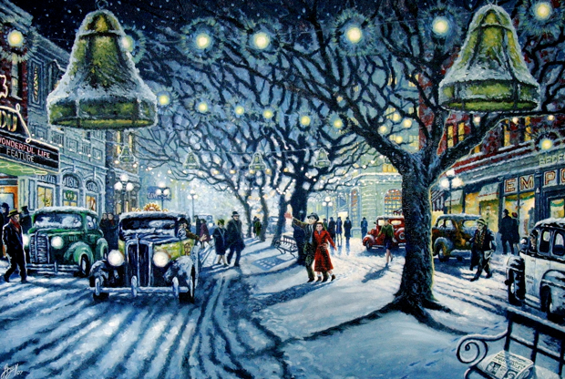Bedford Falls Painting