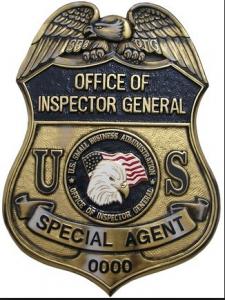 DOJ Badge