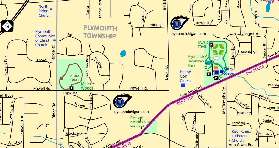 Map Plymouth Township
