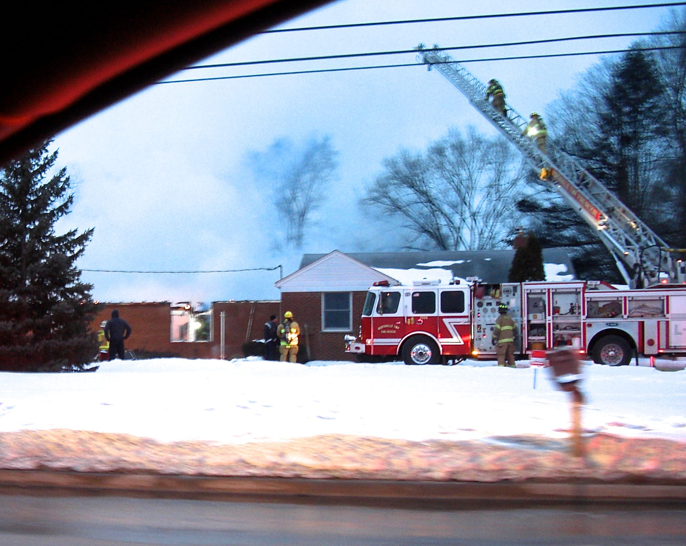 Northville Montessori School Fire