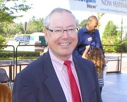 Chris Johnson Mayor of Northville