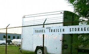 Travel trailer in Plymouth Township where Wobbe hid DeKeyzer's body