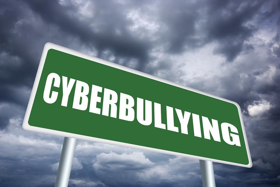 Cyberbulling sign