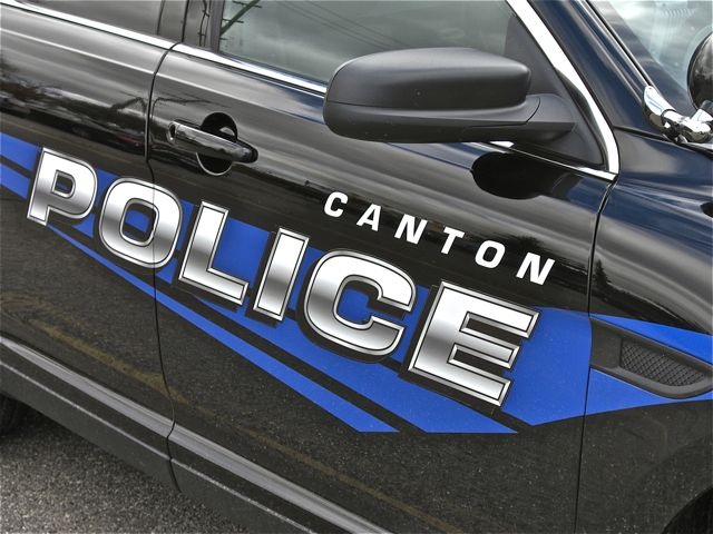 CANTON POLICE VEHICLE