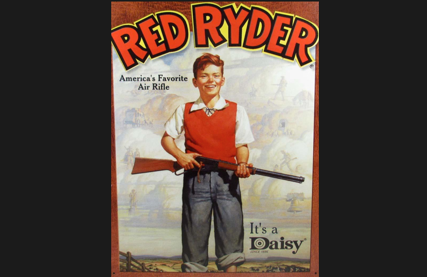 Red Ryder sign