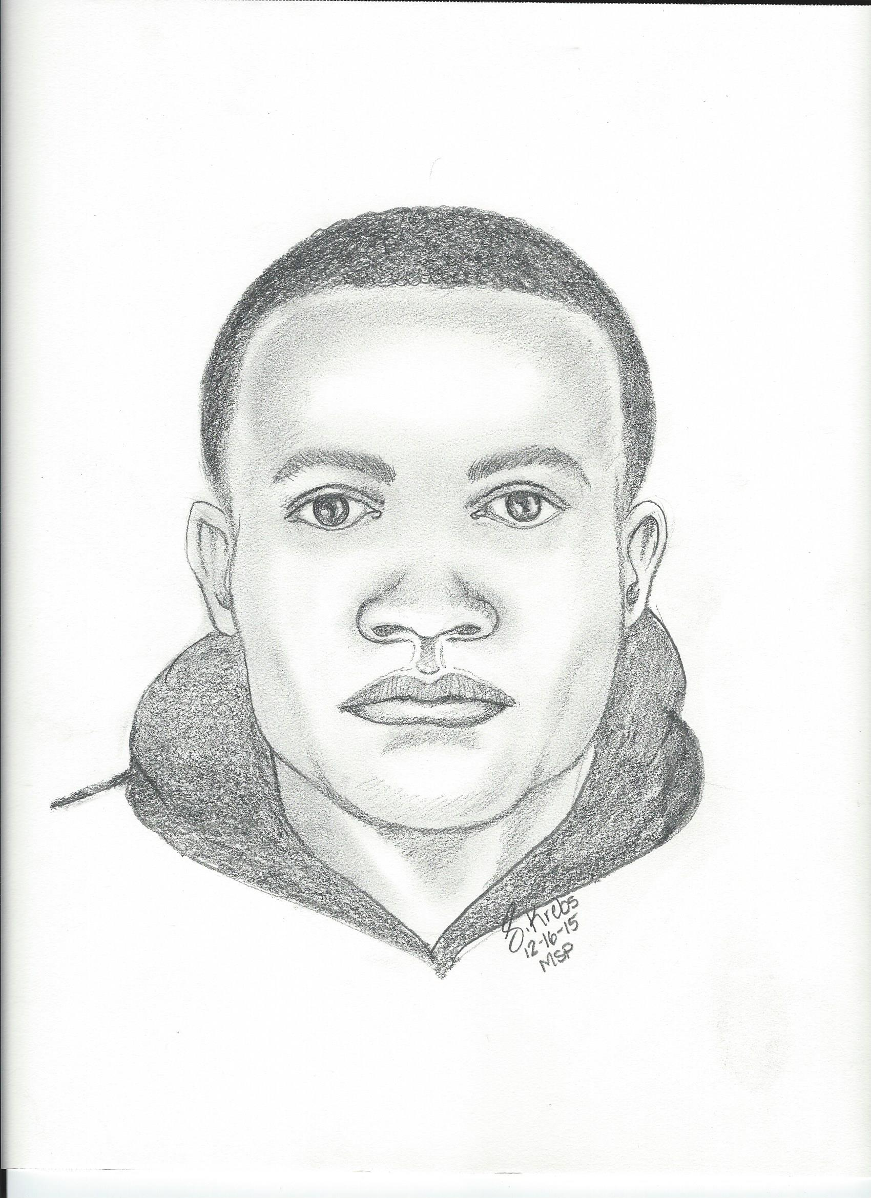 assault suspect sketch