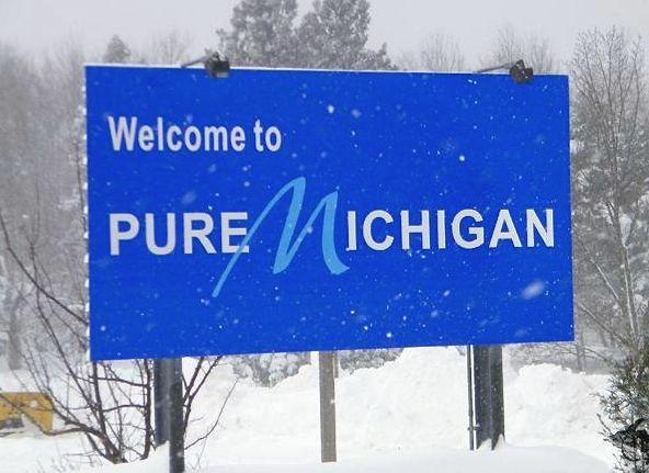 Michgan sign