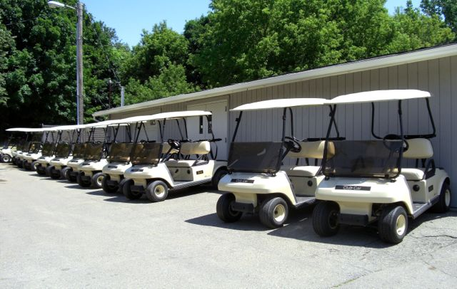 New Golf Carts Hiltop Golf Course