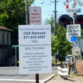 Railroad sign 2