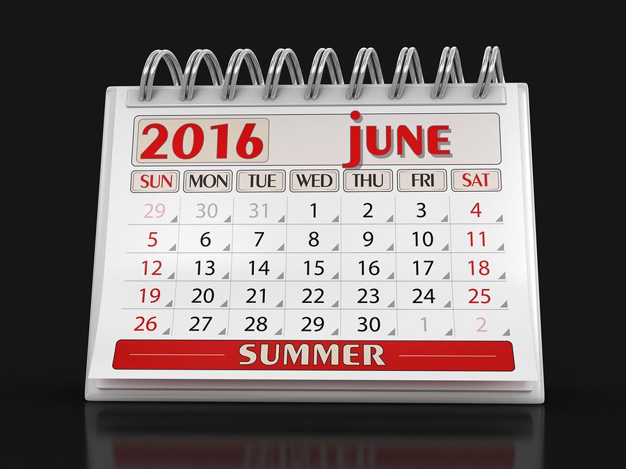 bigstock Calendar June clippi