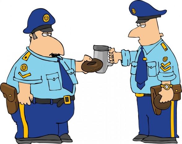Policeman Toast