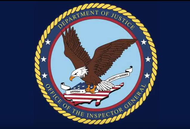 DOJ OIG Logo