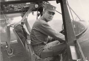 U.S. Army Helicopter Pilot Charles Kettles. Circa 1967