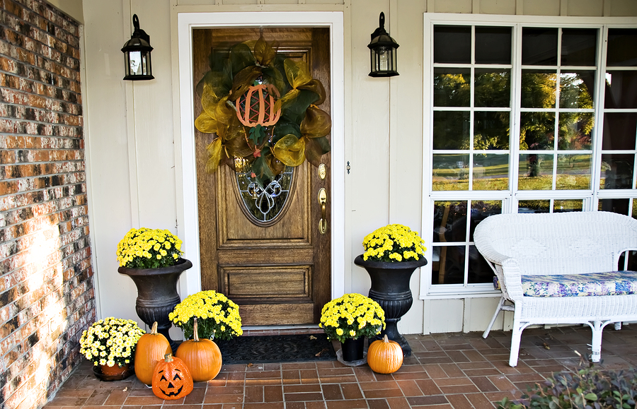 bigstock Front Fall Entryway