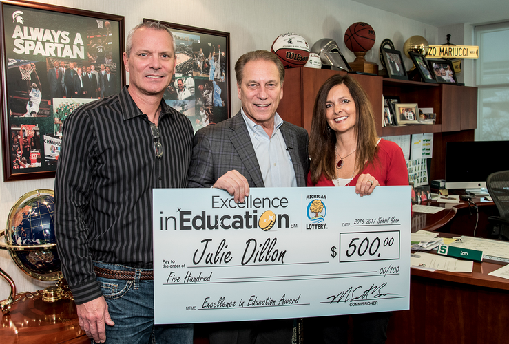 Julie Dillon Excellance in Education Award