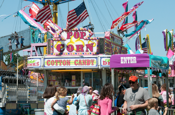 Liberty fest opens in canton plymouth voiceplymouth voice for Motor city community credit union