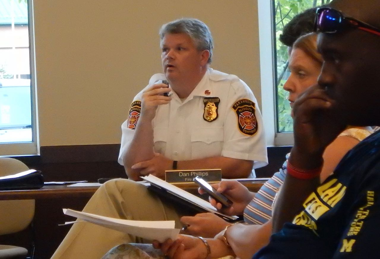Dan Phillips Fire Chief