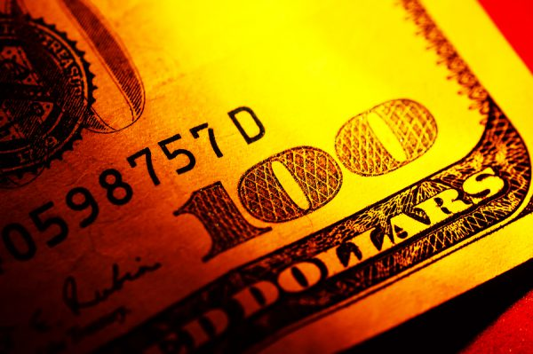 Dollar bill e