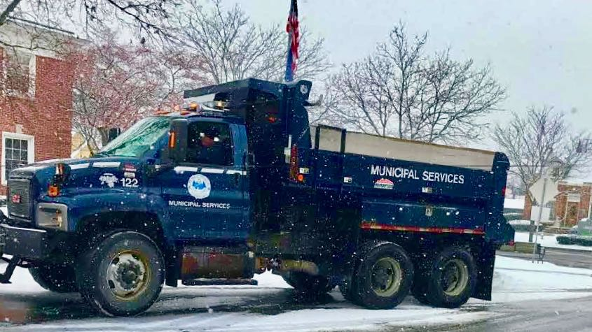 Plymouth DPW Truck
