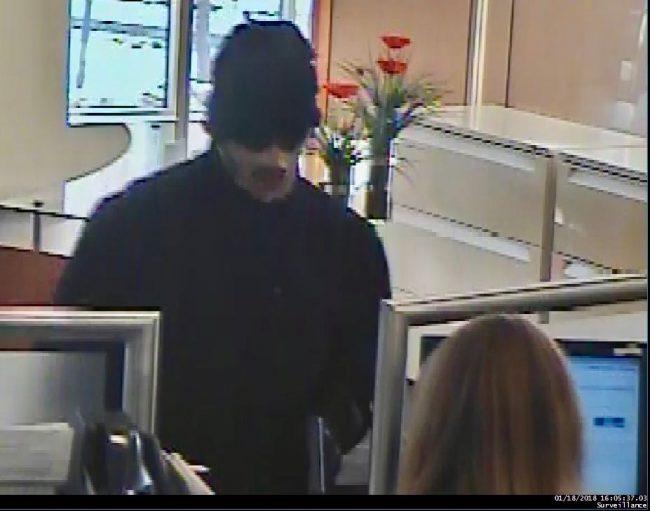 Bank Robbery Suspect  e