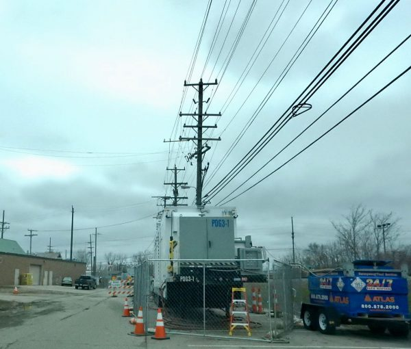 Farmer St DTE Substation e